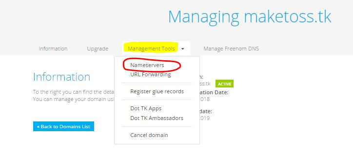 free domain lifetime