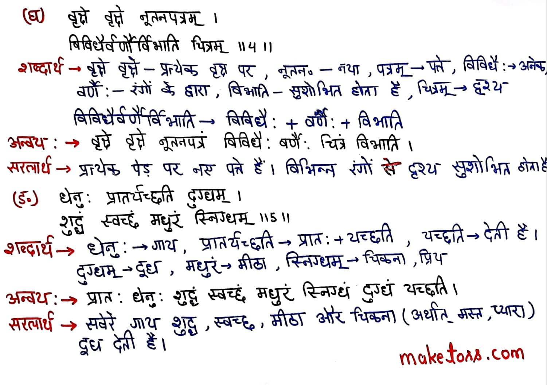 class 7 sanskrit chapter 15